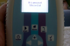 Diamond-Shield-Zapper-IE-Regulationstherapie-Impulsentladung-Modulation-Wobbel-Akupunkturprogramme-Schmerztherapie