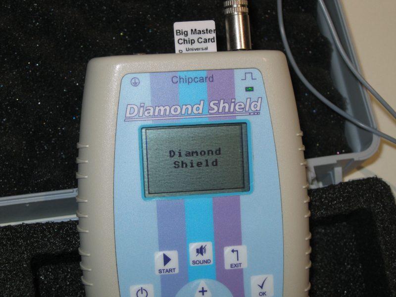 Diamond Shield Zapper mit Maserchip Karte