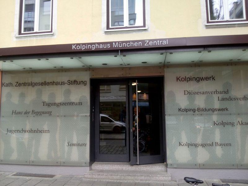 Kolpinghaus München Tagungszentrum Kongreß Trikombin Frequenztherapie 2019