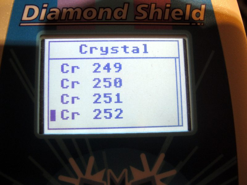 Diamond Shield Zapper IE Crystal 252 Unterprogramme nach A. Baklayan