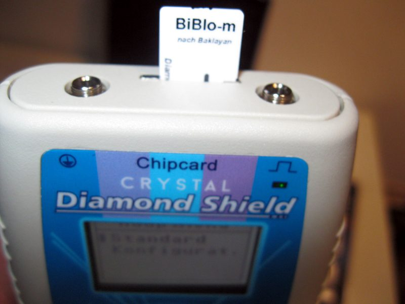 Diamond-Shield-Zapper-IE-Crystal-Bestückung-mit-DS-Chipcard